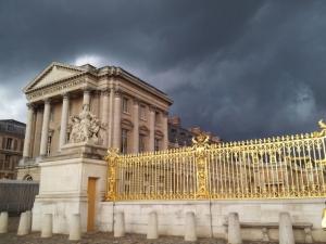 Versailles (Pavilion Gabriel) just before a storm