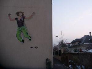 Jana und Js jumping for joy