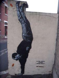 Jef Aerosol upside down