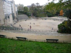 Les arènes de Lutèce, the ruined Roman arena