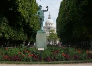 Panthéon, from the Luxembourg Gardens