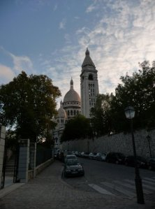 Back view of the Sacre Cœur