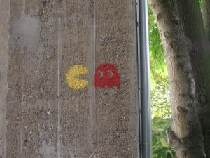 Pacman in Nantes, France