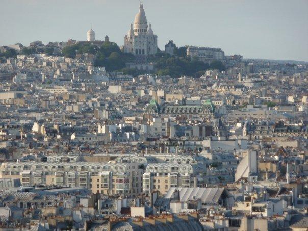 Sacre Cœur (view from Notre Dame)