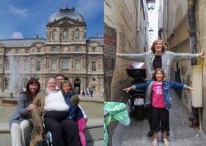 Cepkauskas family in Paris